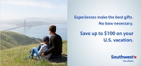 southwest vacations - save $100